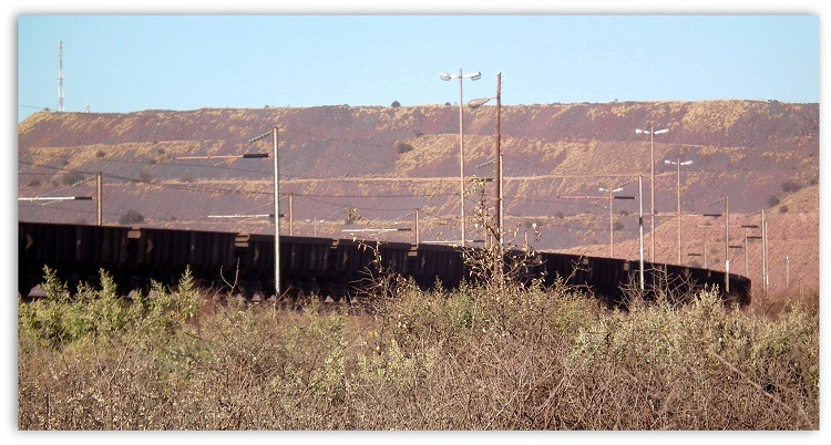 Kathu South Africa  city pictures gallery : Kumba Iron Ore Mine… Sishen, South Africa. | The Photographic ...