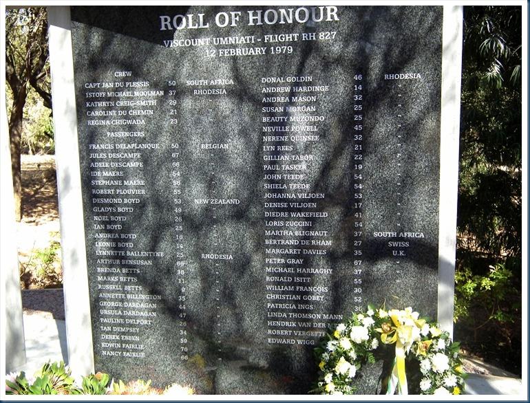 Rhodesian Memorial 153